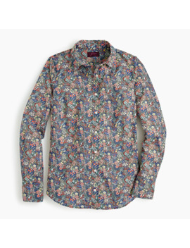 Perfect Shirt In Liberty® Elderberry Floral by Perfect Shirt In Liberty