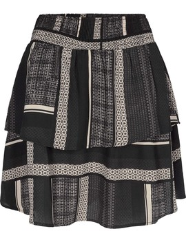 vmquinn-short-layer-skirt-vip by vero-moda