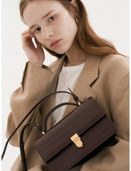 More Bag Croc Brown by Other And