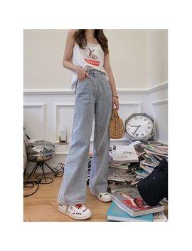 Minami   Plain Wide Leg Jeans by Minami