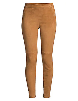 Roxanna Suede Leggings by Elie Tahari