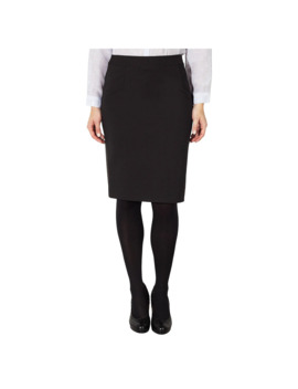 John Lewis & Partners Taylor Ponti Pencil Skirt, Black by John Lewis & Partners