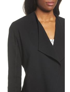 Drape Collar Knit Blazer by Caslon®