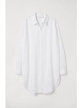Dlhá Košeľa Zľanovej Zmesi by H&M