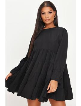 Black Long Sleeve Smockdress by I Saw It First
