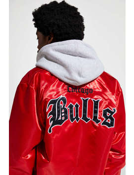 Mitchell & Ness Chicago Bulls 1997 Nba Finals Satin Jacket by Mitchell &Amp; Ness