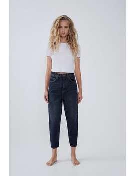 Jeans Hi Rise Carrot by Zara
