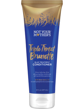 Triple Threat Brunette Blue Treatment Conditioner by Not Your Mother's