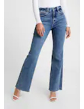 Good Fray Hem   Flared Jeans by Good American