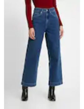 Slfsusan Wide Belle   Flared Jeans by Selected Femme