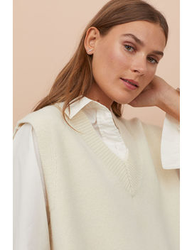 Pullunder Aus Wolle by H&M