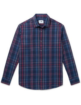Checked Cotton Flannel Shirt by Nn07