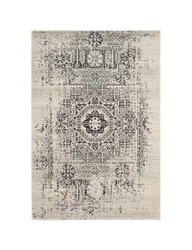 Evoke Ivory/Black 8 Ft. X 10 Ft. Area Rug by Safavieh