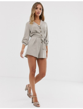 Miss Selfridge   Combishort Fonctionnel   Beige by Miss Selfridge