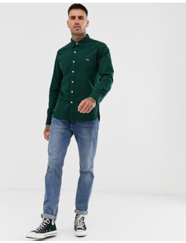 Levi's Battery Small Batwing Logo Shirt In Pine Grove by Levi's