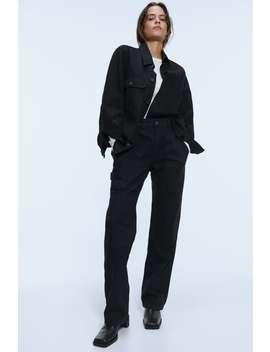 Spodnie Jeansowe Zw Premium Worker Straight by Zara