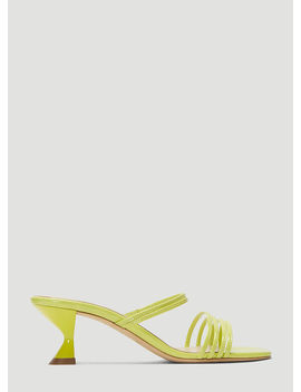 Simon Sandals In Green by Kalda