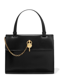 Frame Keyts Glossed Leather Tote by Jw Anderson