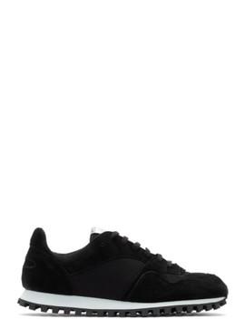 Black Marathon Low Sneakers by Spalwart