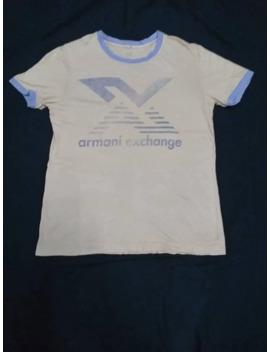 Armani Exchange Ringer by Designer  ×  Designer Collection  ×  Armani Exchange  ×