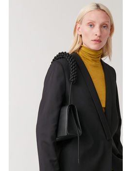 Knotted Strap Leather Bag by Cos