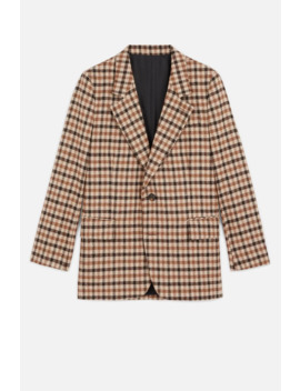 Women's Lined Two Button Jacket by Ami Paris