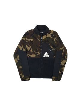 Palace P Surgent Fleece Jacket Black Dpm by Stock X