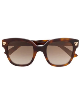 Oversized Square Frame Sunglasses by Cartier