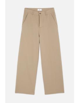 Women's Large Leg Fit Trousers by Ami Paris