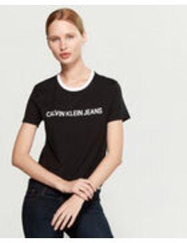 Varsity Heritage Short Sleeve Tee by Calvin Klein Jeans