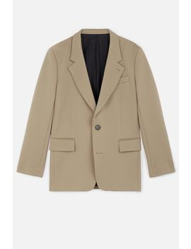 Women's Lined Two Buttons Jacket by Ami Paris