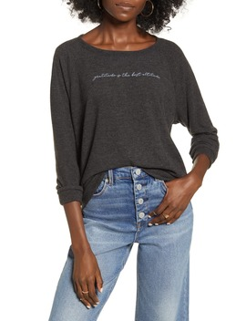 Gratitude Sweatshirt by Project Social T