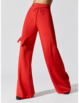 High Waisted Wide Leg Pant by Cushnie