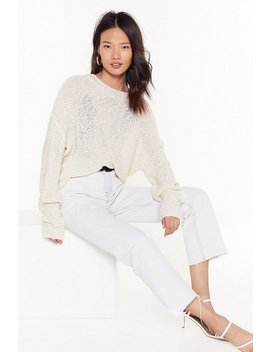 Take Knit Easy Oversized Jumper by Nasty Gal