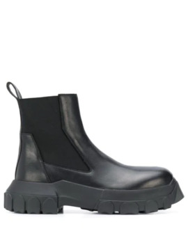 Chunky Chelsea Boots by Rick Owens