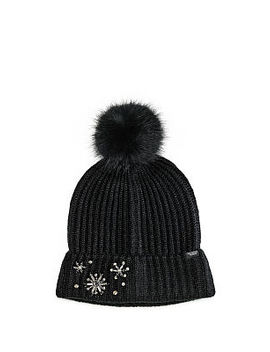 Sparkle Pom Pom Hat by Victoria's Secret