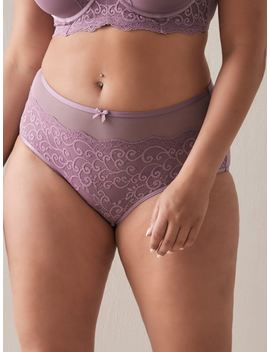 Brief Panty With Lace by Penningtons