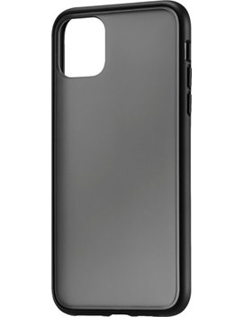 Hard Shell Case For Apple® I Phone® 11 Pro Max   Transparent Black by Insignia™