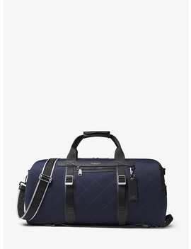 Odin Quilted Neoprene Convertible Duffel by Michael Kors Mens