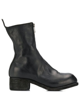 Zip Front Boots by Guidi