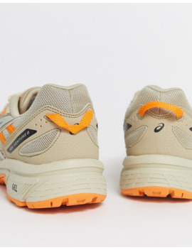 Asics Gel Venture 6 Trail Trainers In Beige by Asics