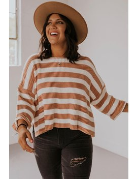 Abilene Stripe Sweater by Roolee