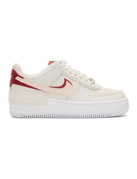 Off White Shadow Air Force 1 Sneakers by Nike