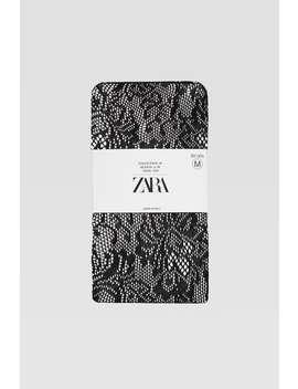 Strumpfhosen Mit Spitze – Limited Edition by Zara