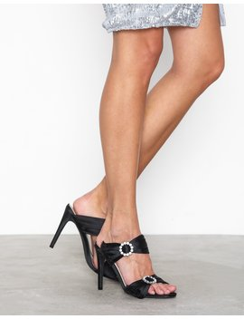 Diamond Heel Sandal by Nly Shoes