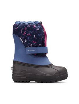 Youth Printed Powderbug Plus Ii Winter Boots by Columbia