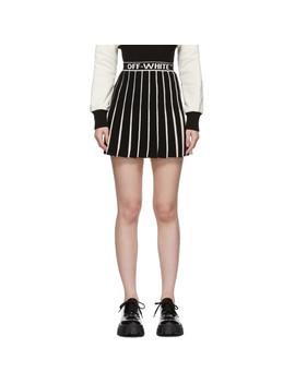 White & Black Swans Miniskirt by Off White