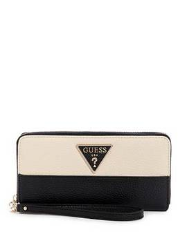 Aretha Logo Large Zip Around Wallet by Guess