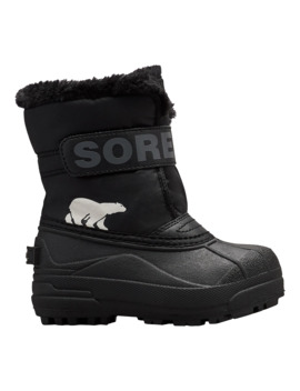 Sorel Boy Toddler Snow Commander Winter Boots   Black/Charcoal by Sport Chek