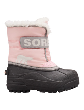 Sorel Girl Toddler Snow Commander Winter Boots   Cupid/Dove by Sport Chek